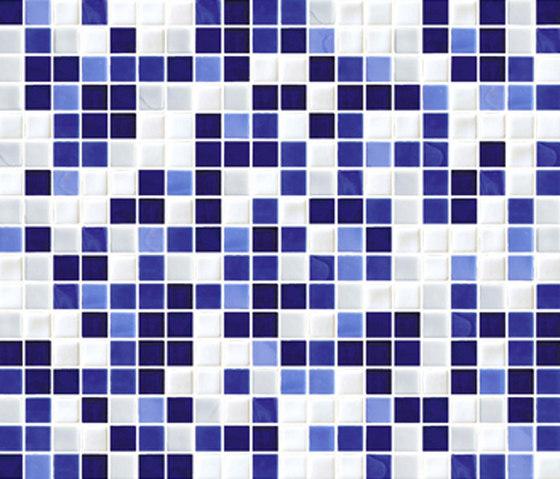 Sfumature 15x15 Iris by Mosaico+ | Glass mosaics