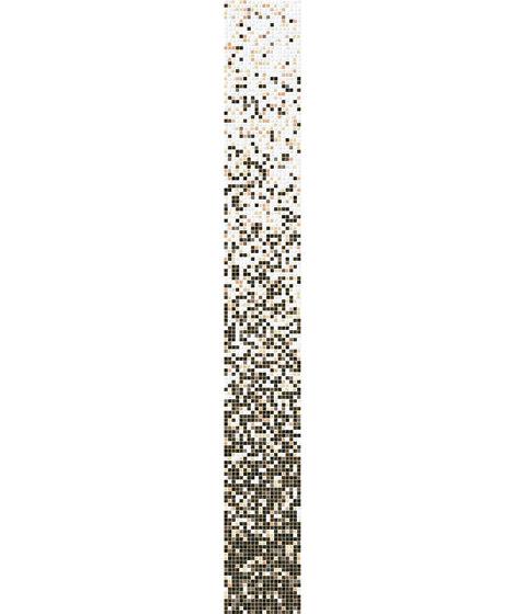 Sfumature 15x15 Sandalo di Mosaico+ | Mosaici