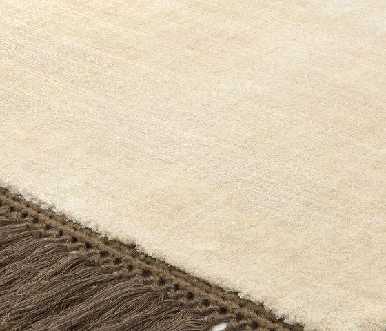 Revolution F vanilla coffeebrown von Miinu | Formatteppiche / Designerteppiche