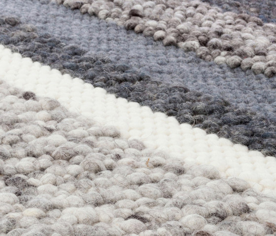 Step by Step gray de Miinu | Tapis / Tapis design