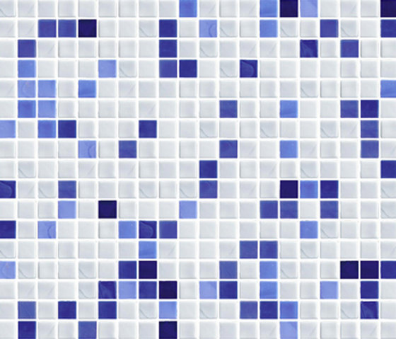 Sfumature 15x15 Light Blu by Mosaico+ | Glass mosaics