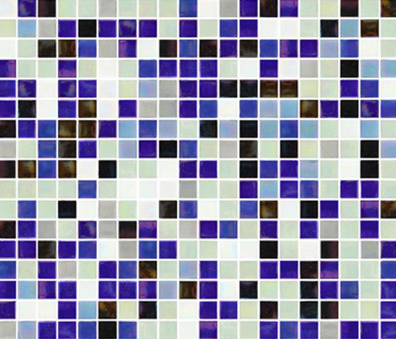 Sfumature 15x15 Sky by Mosaico+ | Glass mosaics