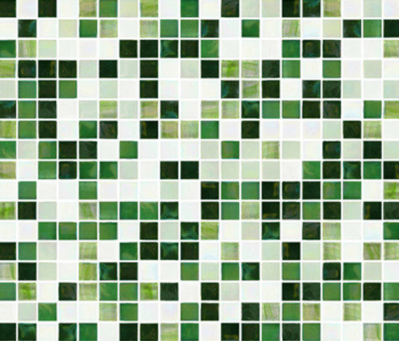 Sfumature 15x15 Greenwood by Mosaico+ | Glass mosaics