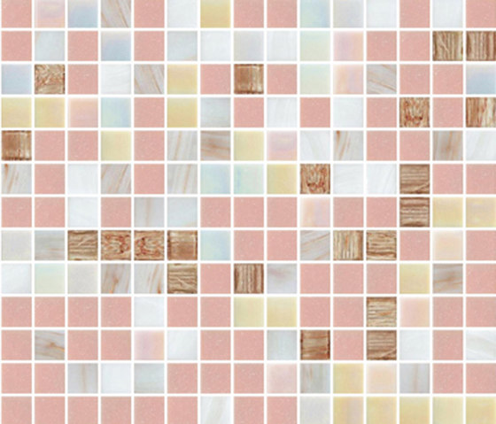 Sfumature 20x20 Mercurio by Mosaico+ | Glass mosaics