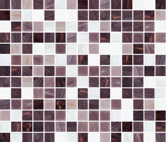 Sfumature 20x20 Bacco di Mosaico+ | Mosaici vetro