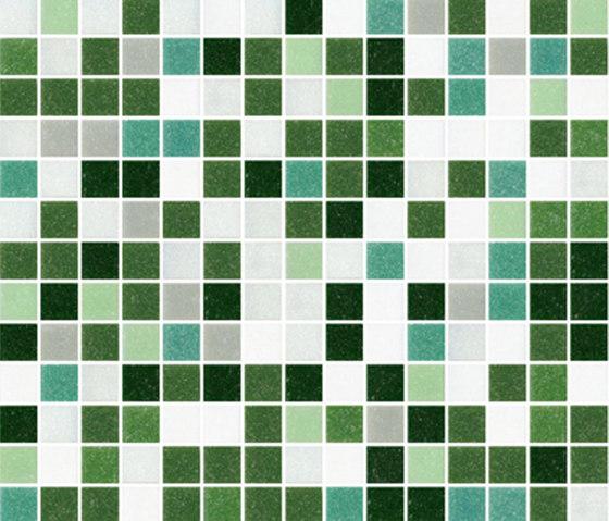 Sfumature 20x20 Florat by Mosaico+ | Glass mosaics