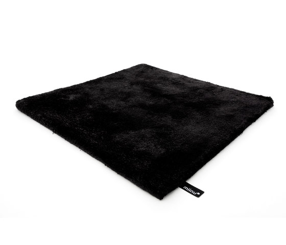 Tencel pure black de Miinu | Tapis / Tapis design