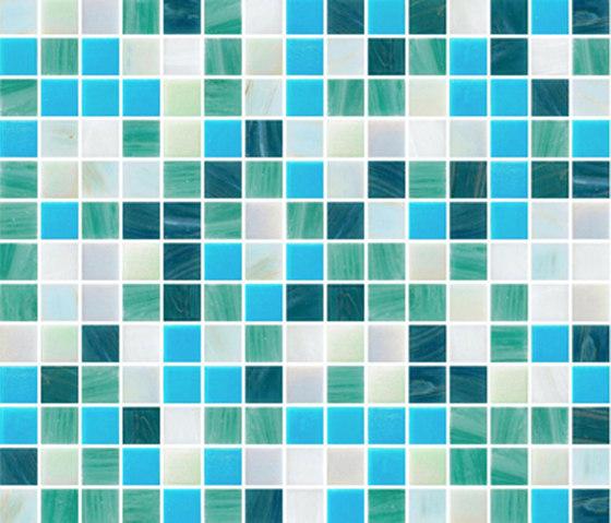 Sfumature 20x20 Fides di Mosaico+ | Mosaici vetro