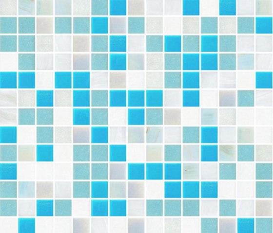 Sfumature 20x20 Apollo by Mosaico+ | Glass mosaics