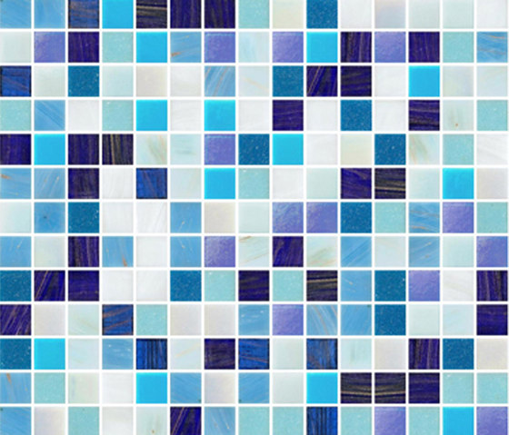 Sfumature 20x20 Giove by Mosaico+ | Glass mosaics