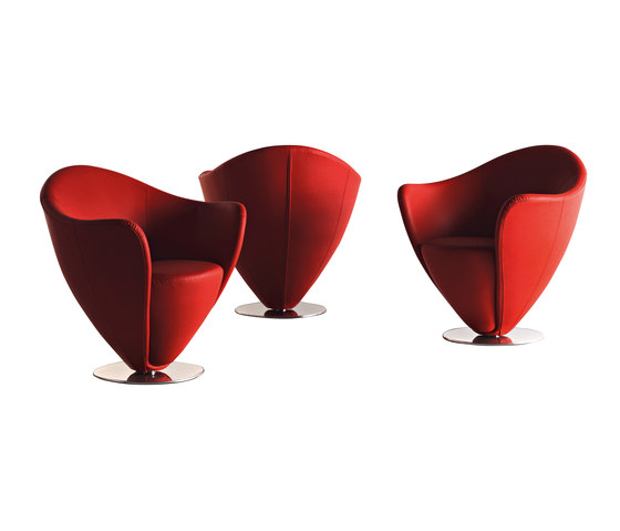 Mon Petit Coeur by La Cividina | Lounge chairs