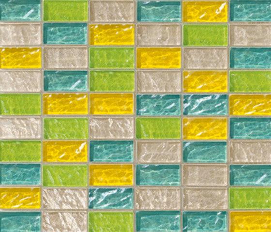 Sfumature 23x48 Vaniglia by Mosaico+ | Glass mosaics