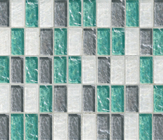 Sfumature 23x48 Mughetto by Mosaico+ | Glass mosaics
