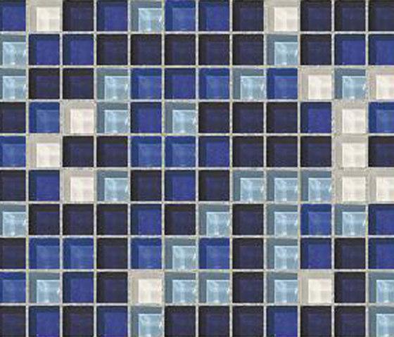 Sfumature 23x23 Scilla by Mosaico+   Glass mosaics