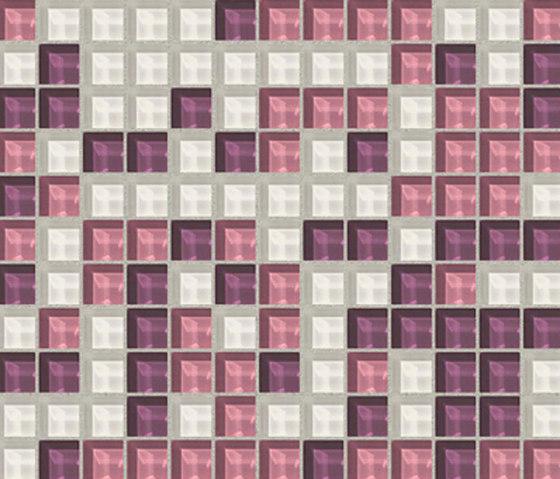 Sfumature 23x23 Ninfea by Mosaico+ | Glass mosaics