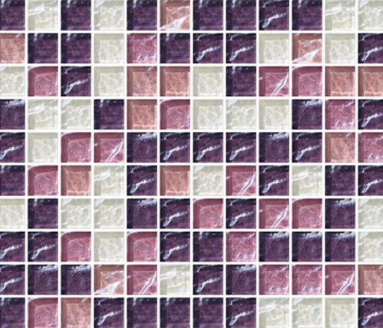 Sfumature 23x23 Isoppo by Mosaico+ | Glass mosaics