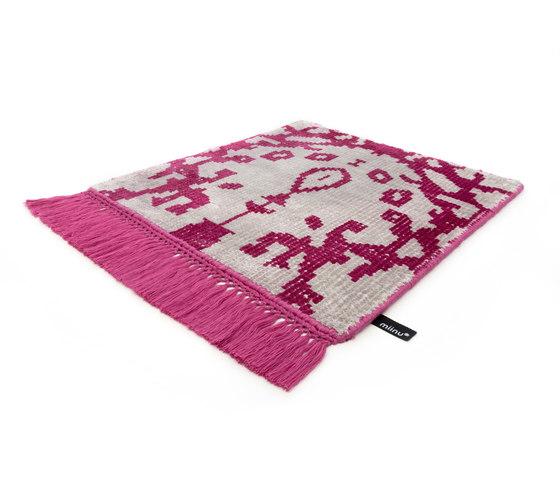 Vivid Vol. I silver cloud bright pink by Miinu | Rugs / Designer rugs