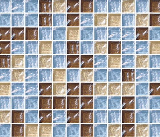 Sfumature 23x23 Olibano by Mosaico+ | Glass mosaics
