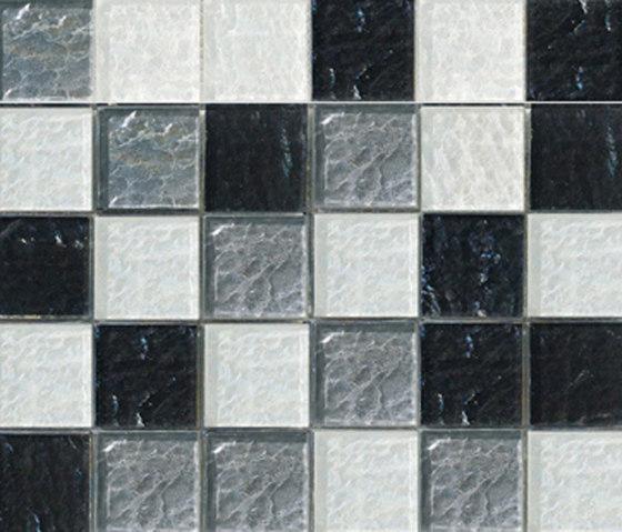 Sfumature 48x48 Liquirizia by Mosaico+   Glass mosaics