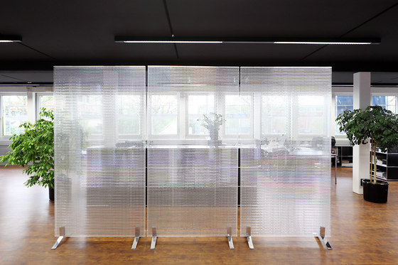 Rossoacoustic CP30 membrane body | Clear by Rosso | Space dividers