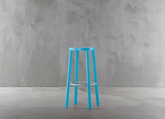 Blocco stool 8500-00 by Plank | Bar stools