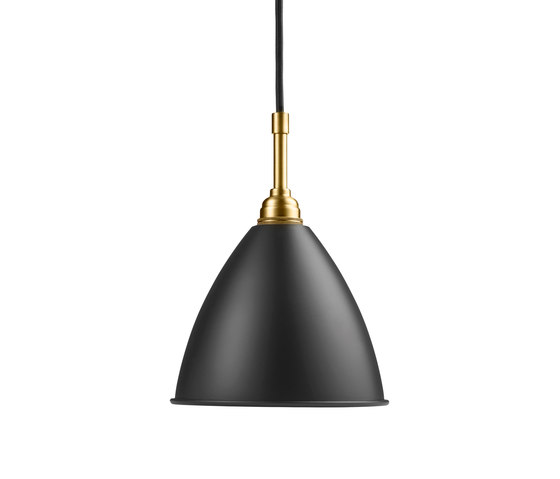 Bestlite BL9 S Pendant | Charcoal Black/Brass by GUBI | General lighting