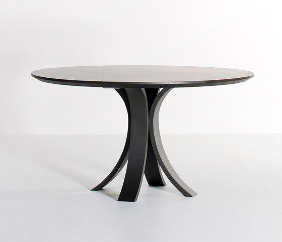 Kops slim dining table round di Van Rossum | Tavoli da pranzo