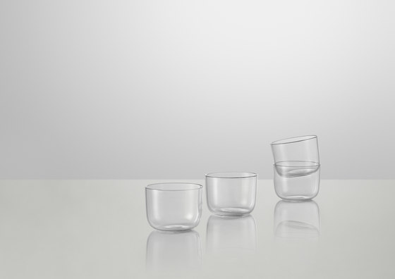 Corky | low glasses de Muuto | Water glasses