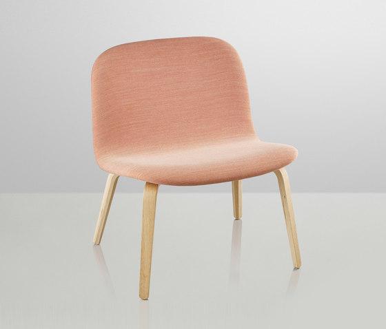 Visu Lounge | upholstered by Muuto | Lounge chairs