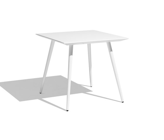 Vint table 90x90 de Bivaq | Tables à manger de jardin