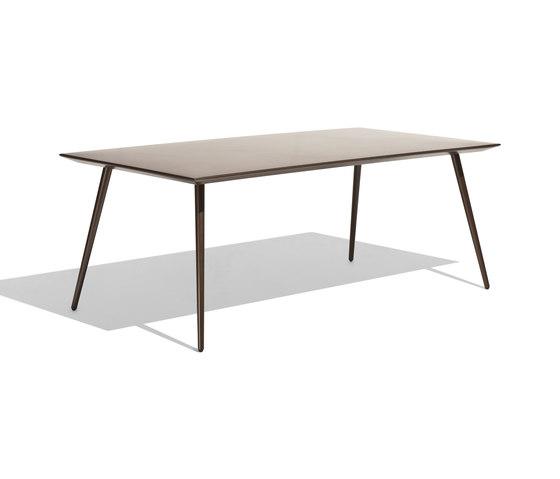 Vint mesa 200x100 de Bivaq | Mesas de comedor de jardín