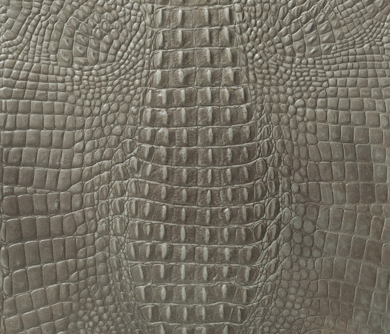 Kaiman titanium by Alphenberg Leather | Natural leather wall tiles