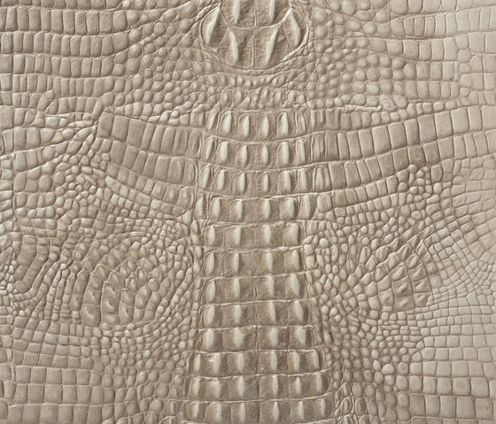 Kaiman sand by Alphenberg Leather | Natural leather wall tiles