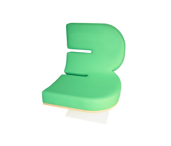 Typographia Chair von TABISSO | Loungesessel