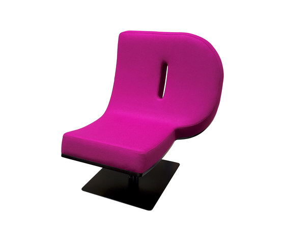 Typographia Chair by TABISSO | Lounge chairs