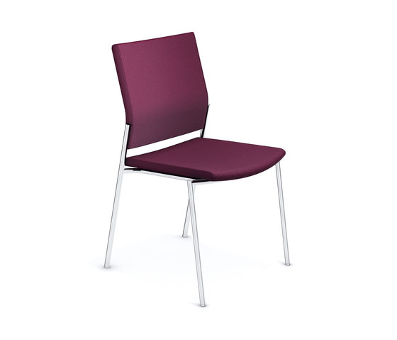 Keep Moving II 2493/00 by Casala | Visitors chairs / Side chairs