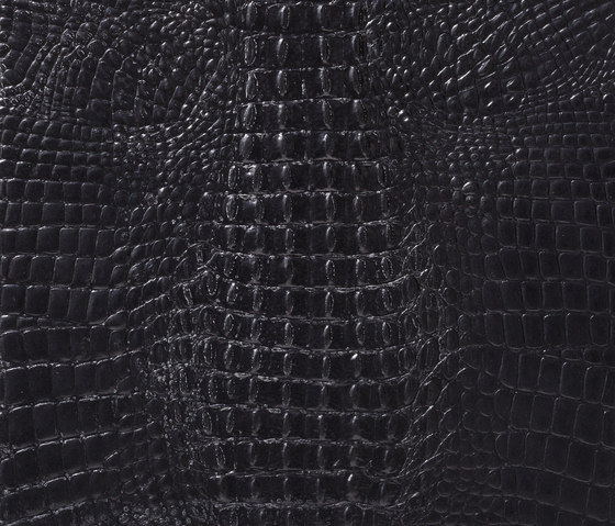 Kaiman pitch black by Alphenberg Leather | Leather tiles