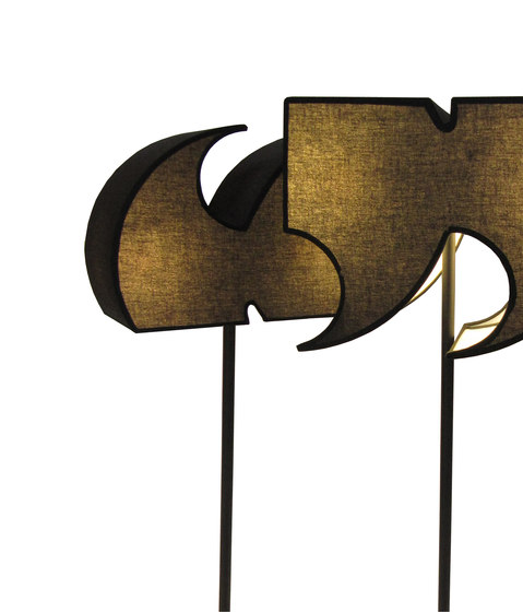 Typographia Lamp by TABISSO   General lighting