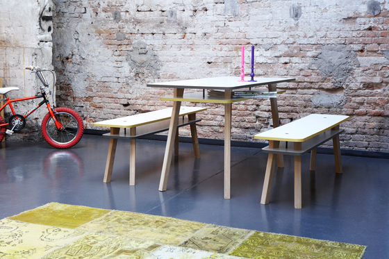 Twain - Table MPX by pliet | Dining tables