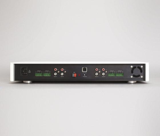 Asano P4 - 4-zone amplifier di Basalte | Sistemi KNX
