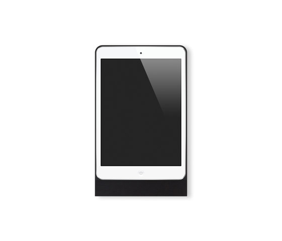 Eve Mini brushed black square von Basalte | Smartphone / Tablet Dockingstationen