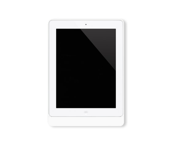 Eve satin white rounded di Basalte | Information terminals