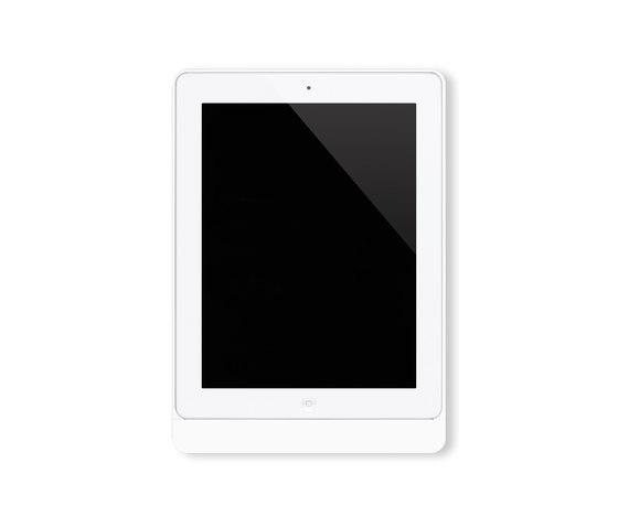 Eve satin white rounded von Basalte | Informations-Terminals