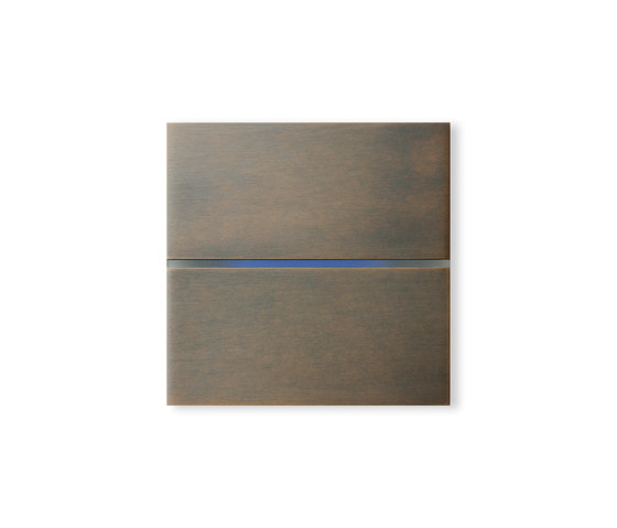 Sentido 2-way bronze by Basalte | KNX-Systems