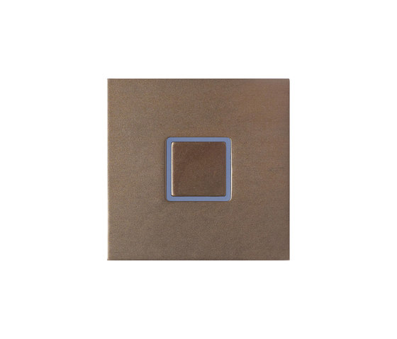 Tacto closed bronze by Basalte | KNX-Systems