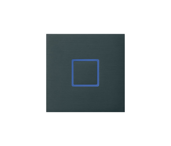 Tacto closed brushed dark grey by Basalte | KNX-Systems