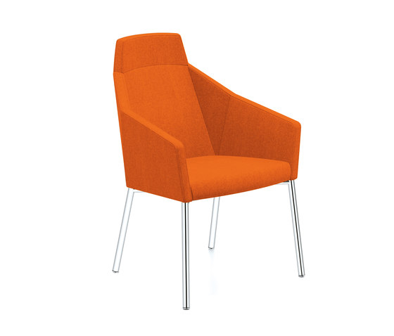 Parker III 2751/11 by Casala | Visitors chairs / Side chairs