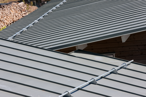 Roof covering | Double standing seam by RHEINZINK | Roofing systems
