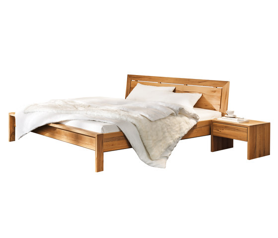 lunetto bed by TEAM 7 | Double beds