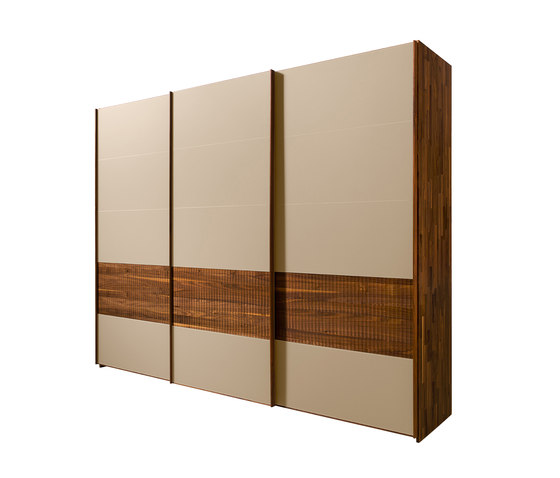 valore relief wardrobe system by TEAM 7 | Built-in cupboards
